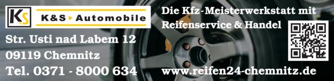 Anzeige K & S Automobile Keller + Keller GbR