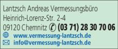 Anzeige Lantzsch Andreas
