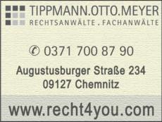 Anzeige Tippmann.Otto.Sitz Rechtsanwälte, Wirtschaftsprüfer, Steuerberater