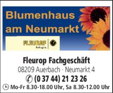 Anzeige Blumenhaus am Neumarkt