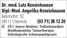 Anzeige Renziehausen Lutz Dr. med.
