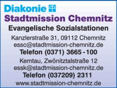 Anzeige Evangelische Sozialstation Stadtmission Chemnitz e.V.