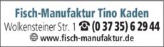 Anzeige Fisch-Manufaktur Tino Kaden