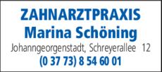 Anzeige Schöning Marina