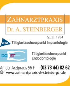 Anzeige Steinberger Andreas Dr. Zahnarztpraxis
