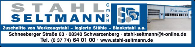 Anzeige Stahl Seltmann GmbH