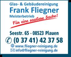 Anzeige Gebäudereinigung Fliegner