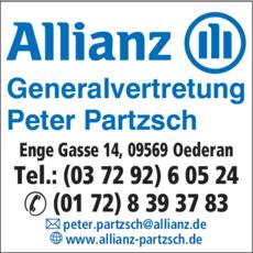 Anzeige Allianz Generalvertretung Peter Partzsch