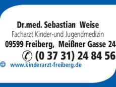 Anzeige Weise, Sebastian Dr.med.