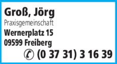 Anzeige Groß, Jörg