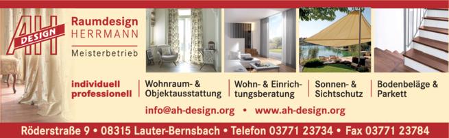 Anzeige Herrmann, Axel