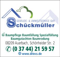 Anzeige Schückmüller Umweltservice