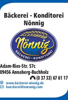 Anzeige Bäckerei Nönnig