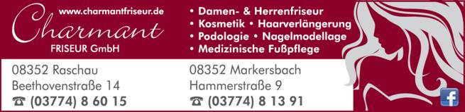 Anzeige Charmant Friseur GmbH
