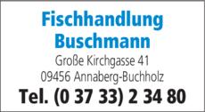 Anzeige Fisch Buschmann