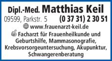 Anzeige Keil Matthias Dipl.-Med.