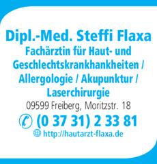 Anzeige Flaxa Steffi Dipl.-Med.