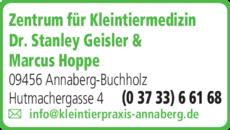 Anzeige Geisler Stanley Dr. med. vet. & Marcus Hoppe