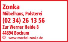 Polsterei Zonka Möbelhaus in Bochum ⇒ in Das Örtliche