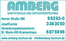 Anzeige Amberg Sanitätshaus