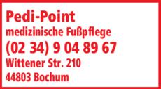 Anzeige Fußpflege med. Pedi-Point