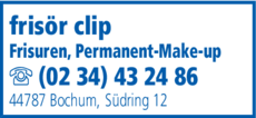 Anzeige Clip frisur und pflege
