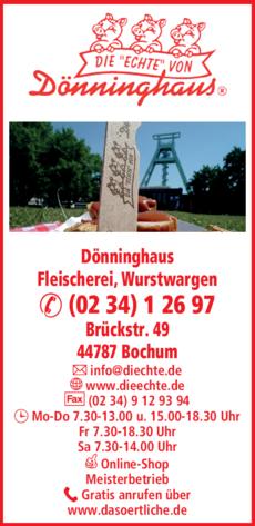 Anzeige Dönninghaus