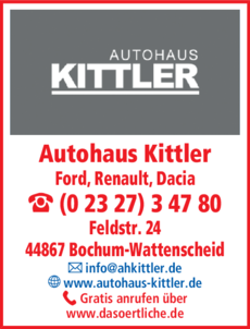 Anzeige Renault Autohaus Kittler