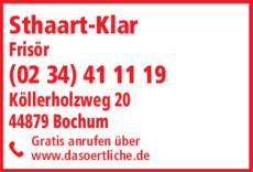 Anzeige Sthaart-Klar