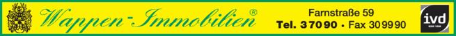 Anzeige Wappen-Immobilien