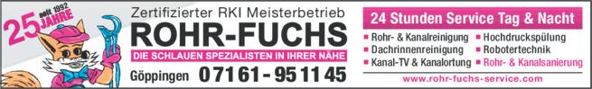 Anzeige Rohr-Fuchs