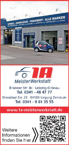 Anzeige 1A Meisterwerkstatt GmbH