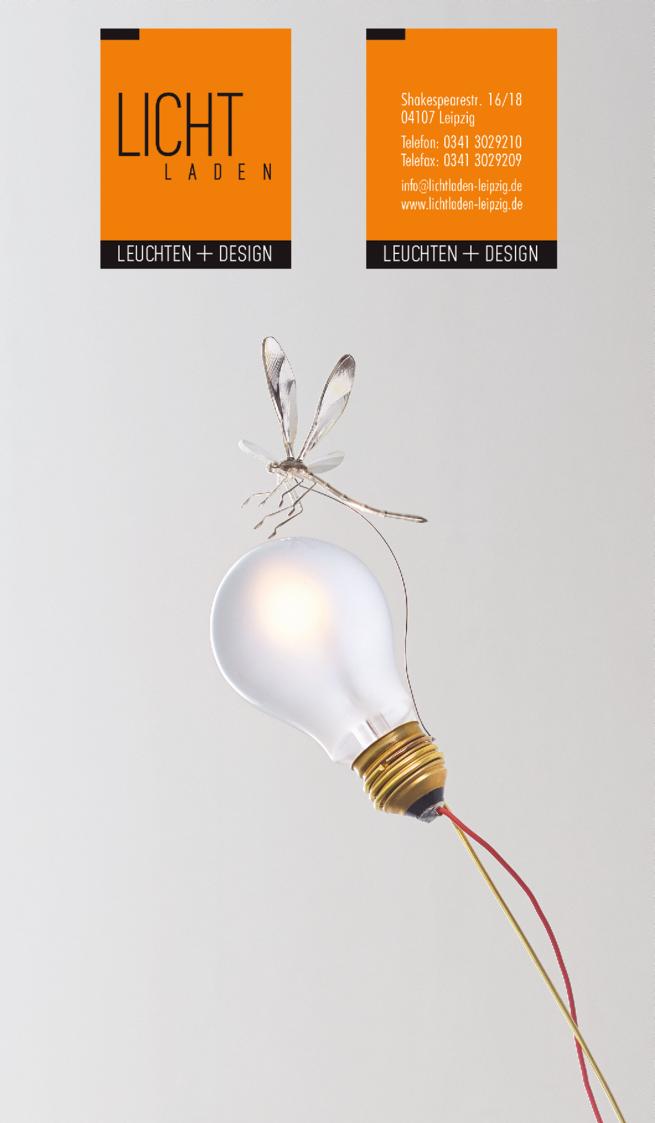Anzeige Lichtladen Leuchten & Design