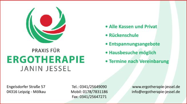 Anzeige Ergotherapie Janin Jessel