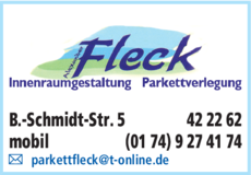 Anzeige Fleck Alexander