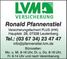 Anzeige LVM-Versicherung