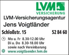 Anzeige LVM Versicherungsagentur Voigtländer