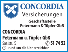 Anzeige Petermann u. Töpfer GbR