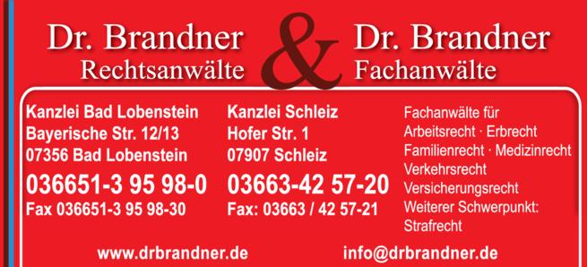 Anzeige Rechtsanwälte Dr. Brandner & Dr. Brandner Familienrecht