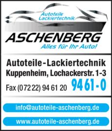 Anzeige Aschenberg GmbH