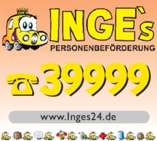 Anzeige Inges Personenbeförderung