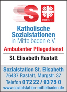 Anzeige Sozialstation St. Elisabeth