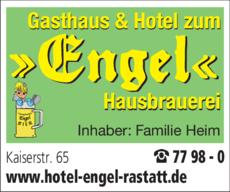 Anzeige ENGEL Gasthaus & Hotel