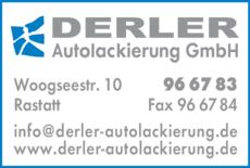 Anzeige Derler Autolackierung GmbH