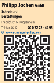 Anzeige Philipp Jochen GmbH