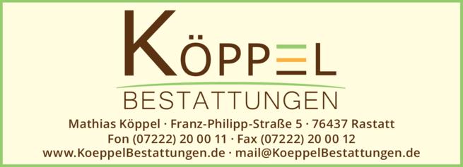 Anzeige Köppel Mathias