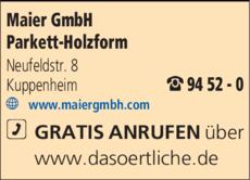Anzeige Maier GmbH