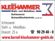 Anzeige Kleehammer Bernd GmbH