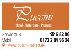 Anzeige Puccini-Ristorante