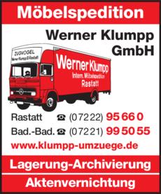 Anzeige Klumpp GmbH